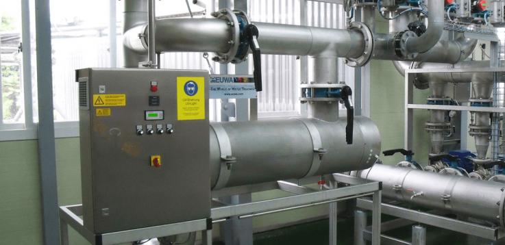 UV system for water treatment